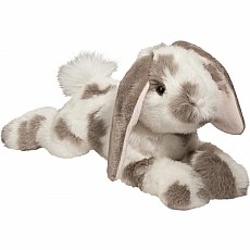 Ramsey Gray Spotted Bunny 18""