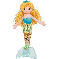 CALYPSO LIME MERMAID Douglas Plush 10""