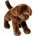 Douglas Cuddle Toy: 1888 Chocolate Labrador - Bean