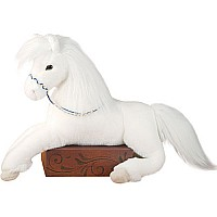 Grace White Floppy Horse