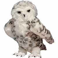 Shimmer Large Snowy Owl, Jointed Head