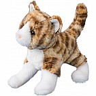 Sadie Tiger Stripe Cat 8 Inch