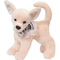 Baby Cream Chihuahua with Collar Neck Bow
