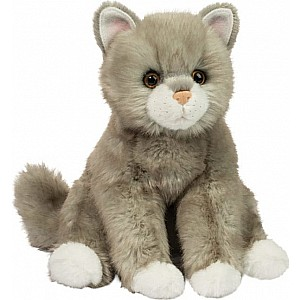 Rita Light Gray Cat 14""