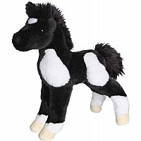 Runner Black and White Paint Foal