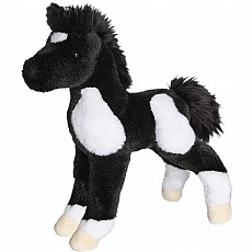 Runner Black & White Paint Foal 10""