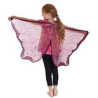 Fairy Wings, Pink with Glitter