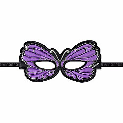 Mask, Butterfly, Purple