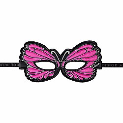 Mask, Butterfly, Pink