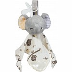 Joey Gray Elephant Paci Lovey