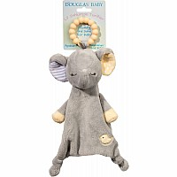 Douglas Toys Gray Elephnt Teether