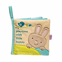 Bunny Activity Book Plush with squeaker