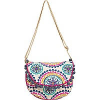 Navy BoHo Crossbody