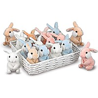 Basket Bunnies Asst*