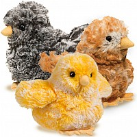 BASKET OF CHICKS  4 ea of 3 styles