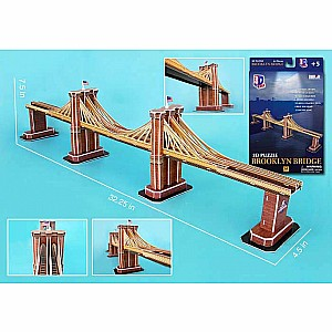 3D Puzzle Brooklyn Bridge 64pc