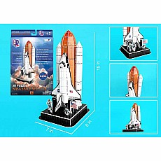 3D Puzzle Space Shuttle on Launch Pad 87pc
