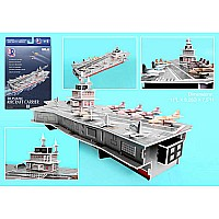 Aircraft Carrier 3d Puzzle 60 Pieces
