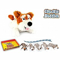 Chuckle Buddies Short Ear Terrier Dog