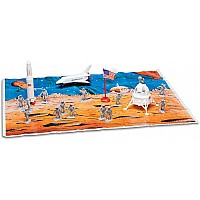 Space Exploration 20 Piece Playset W/Playmat