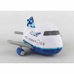 Jet Blue Plush Aircraft with Sound