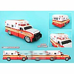 Fdny Motorized Ambulance W/Light & Sound