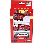 FDNY 3 Piece Vehicle Set