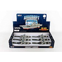 Aircraft Carrier Pullback 6 Piece Counter Display