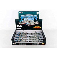 Battleship Pullback 12 Piece Counter Display