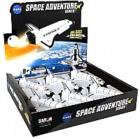 Space Shuttle Pullback Discovery 6 Piece Asst In Counter Dis