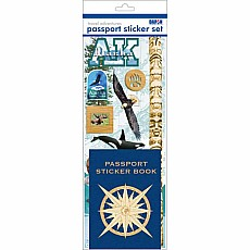 Passport Sticker Set - Alaska