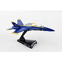 Postage Stamp F/A-18c Hornet Blue Angels 1/150