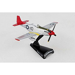 Postage Stamp P-51d Mustang Tuskegee 1/100