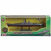 Battleship 9 Inch Die-Cast Figure with 1 Plane
