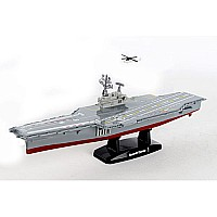 Aircraft Carrier 9 Inch W/1 Helicopter