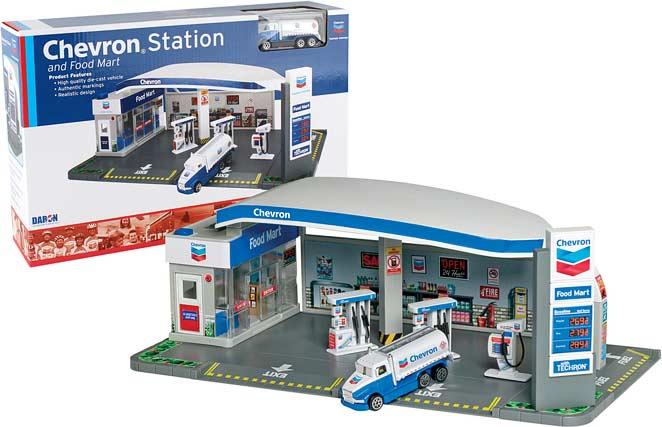 Chevron Gas Station Stevensons Toys