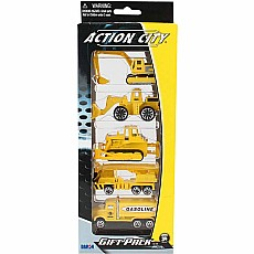 Construction 5pc Vehicle Gift Pack