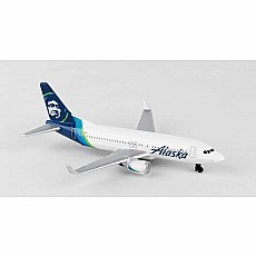 Alaska Airlines Single Plane New Livery