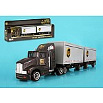 UPS Tractor with Trailers