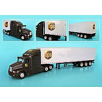 Ups Tractor Trailer, Scale: 1/64