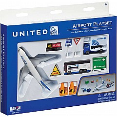 United Airlines 12 Piece set