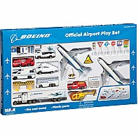Boeing 30 Piece Playset