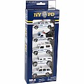 NYPD 5 Piece Vehicle Gift Pack