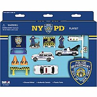 Nypd 12 Piece Playset