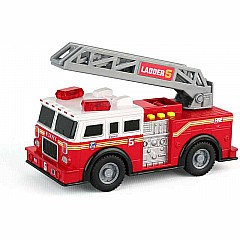 Fdny Mighty Fire Truck W/Light & Sound