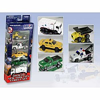 New York City Official 5 Pc Vehicle Set