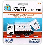 "Nyc 4.5"" Sanitation Dept Garbage Truck"