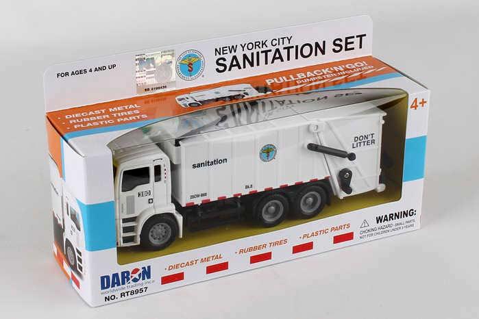 1fb35bc1f2d New York City Sanitation Dept Garbage Truck - Fun Stuff Toys
