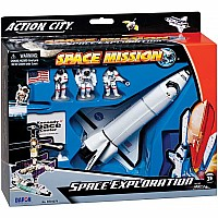 Space Shuttle 7-PIECE Playset W/KENNEDY