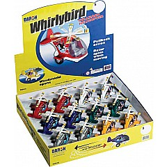 Whirley Bird Pullback Helicopter 12 Pieces